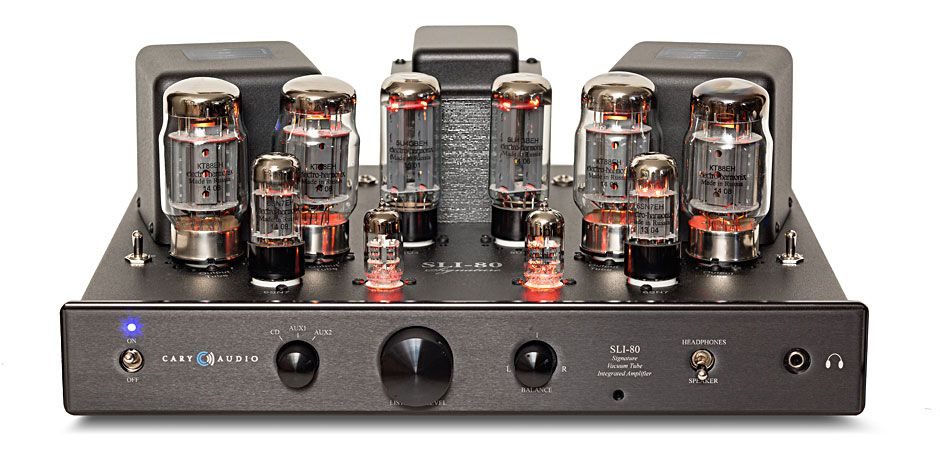 Cary Audio Design SLI 80 Black